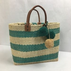 0a6de5067 Mar Y Sol Beach Straw Tote Bag MSRP $139